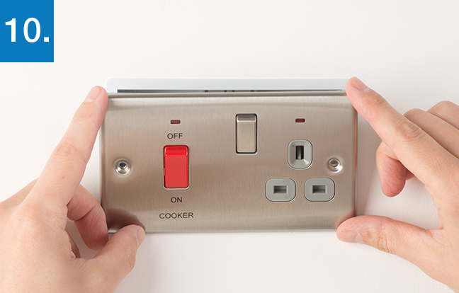 How To Upgrade Cooker Control Outlet
