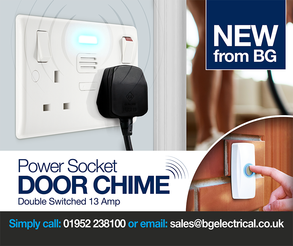 Power Socket Door Chime