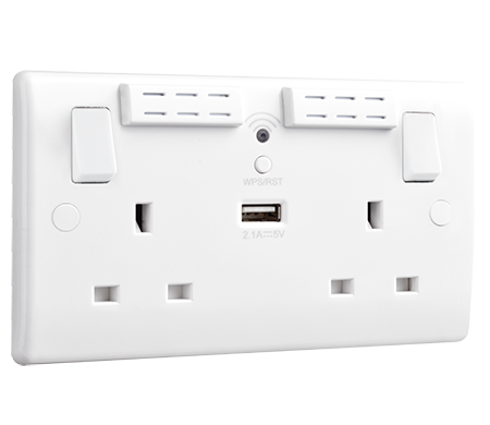 Wi-Fi Socket Range Extender | BG Electrical Accessories