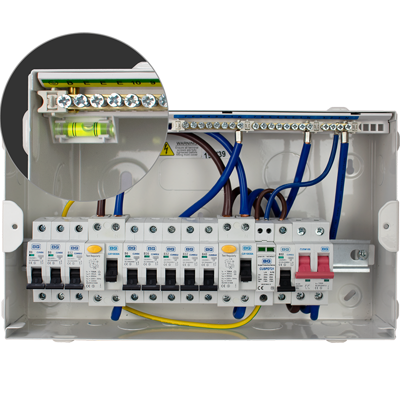 Consumer units enclosures circuit protection bg electrical features cheapraybanclubmaster Images