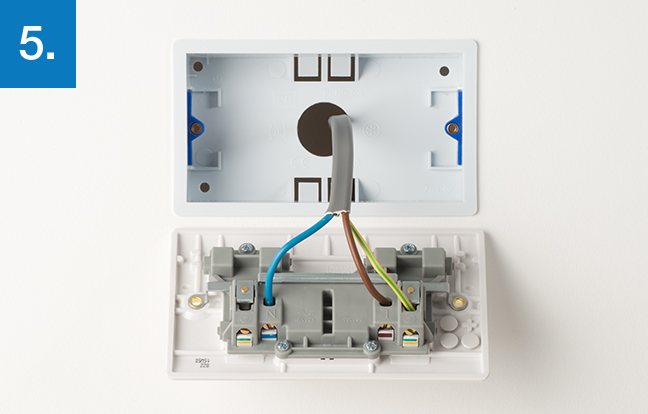 Stupendous How To Upgrade 2 Gang Socket Bg Electrical Accessories Wiring Database Wedabyuccorg