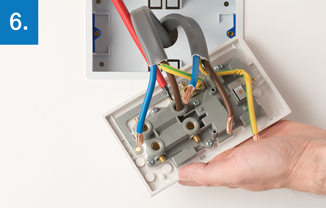 cooker control outlet 6 how to upgrade a cooker control outlet electrical socket wiring at couponss.co