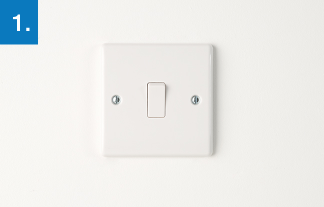 How to upgrade a light switch bg electrical accessories upgrading a light switch before starting any electrical work make sure that the mains supply is turned off at the consumer unit asfbconference2016 Image collections